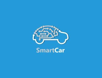 Projekt graficzny logo Smart Car