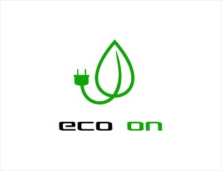 Projekt graficzny logo ECO ON