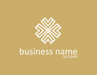 Projekt graficzny logo gold business name