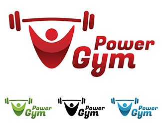 Projekt graficzny logo Power Gym