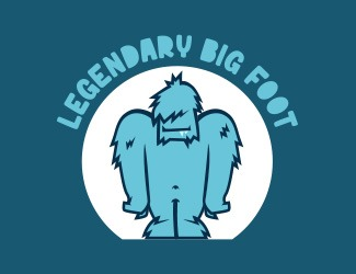Projekt graficzny logo LEGENDARY BIG FOOT