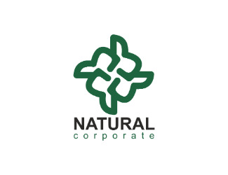Projekt graficzny logo natural corporate