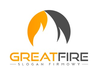 Projekt graficzny logo Great Fire
