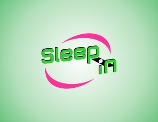 Projekt graficzny logo Sleep IN