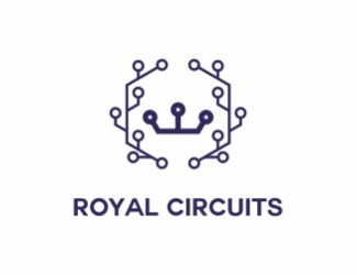 Projekt graficzny logo Royal Circuits