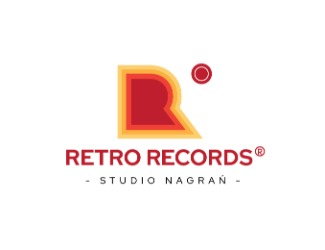 Projekt logo retro records