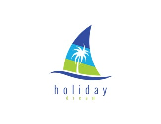 Projekt graficzny logo holiday dream