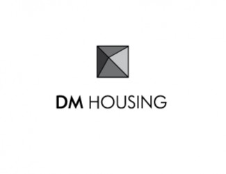 Projekt graficzny logo DM housing