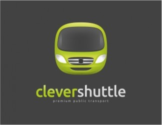 Projekt graficzny logo CleverShuttle/Transport