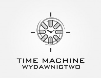 Projekt graficzny logo Time Machine Books