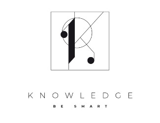 Projekt graficzny logo KNOWLEDGE