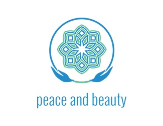 Projekt graficzny logo peace and beauty