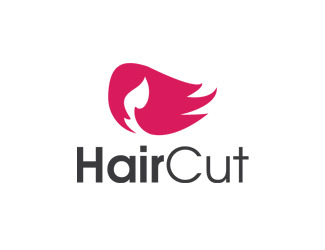 Projekt logo HairCut