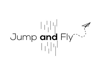 Projekt graficzny logo Jump and Fly