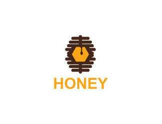 Projekt logo honey