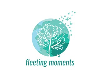 Projekt graficzny logo  fleeting moments