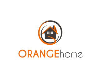 Projekt graficzny logo orange home
