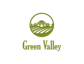 Projekt graficzny logo Green Valley