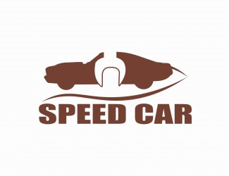 Projekt graficzny logo Speed Car