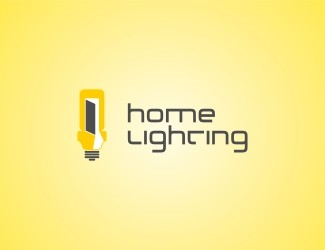 Projekt graficzny logo homelighting