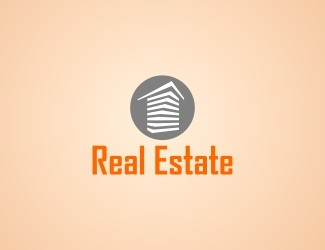 Projekt graficzny logo Real Estate