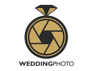 Projekt graficzny logo Wedding Photo