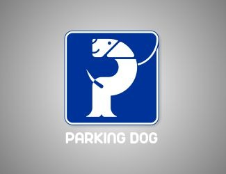 Projekt graficzny logo Parking Dog