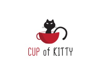Projekt graficzny logo CUP of KITTY