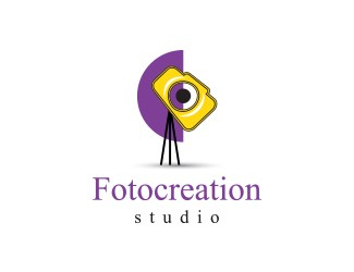 Projekt graficzny logo Fotocreation