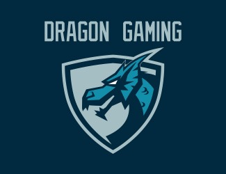 Projekt graficzny logo DRAGON GAMING