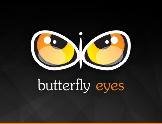 Projekt logo Butterfly Eyes
