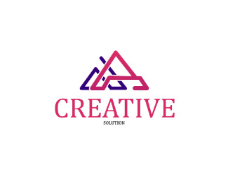 Projekt graficzny logo creative solution
