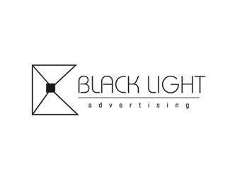 Projekt graficzny logo Black Light