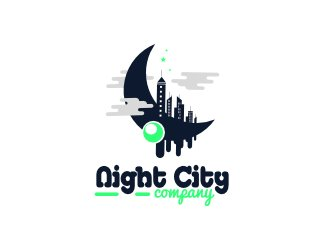 Projekt logo night city