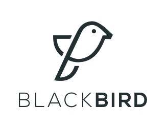 Projekt logo Black Bird