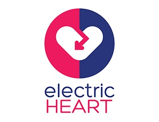 Projekt graficzny logo electric HEART