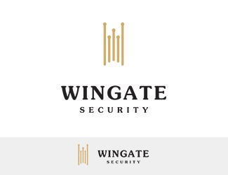 Projekt graficzny logo Wingate Security