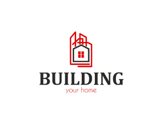 Projekt graficzny logo building your home