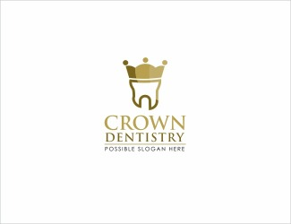 Projekt graficzny logo CROWN DENTAL