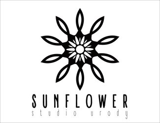 Projekt logo KWIAT FLOWER