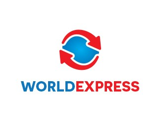 Projekt graficzny logo World Express