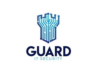 Projekt graficzny logo Guard IT