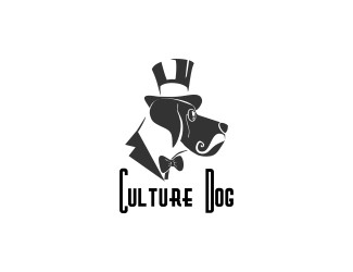 Projekt graficzny logo culture dog