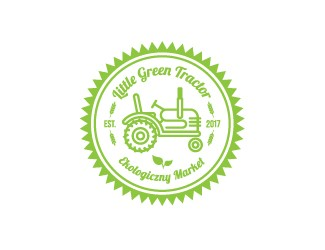 Projekt graficzny logo Little Green Tactor