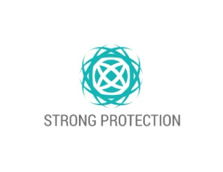 Projekt graficzny logo  strong protection