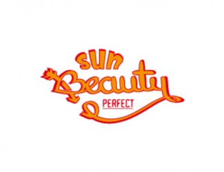Projekt graficzny logo sun beauty perfect