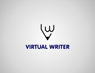 Projekt graficzny logo Virtual Writer