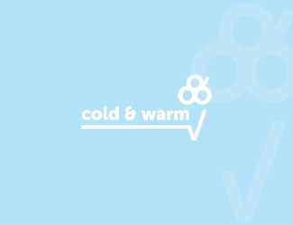 Projekt logo cold and warm
