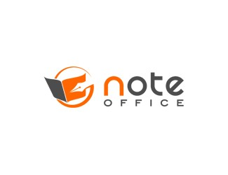 Projekt graficzny logo note office