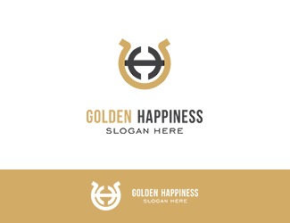 Projekt graficzny logo Golden Happiness